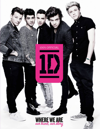 ONE DIRECTION RELEASE IN 2014 TWO MORE BOOKS, It's a Pop-up Book with Naked Photos  _1dboo10