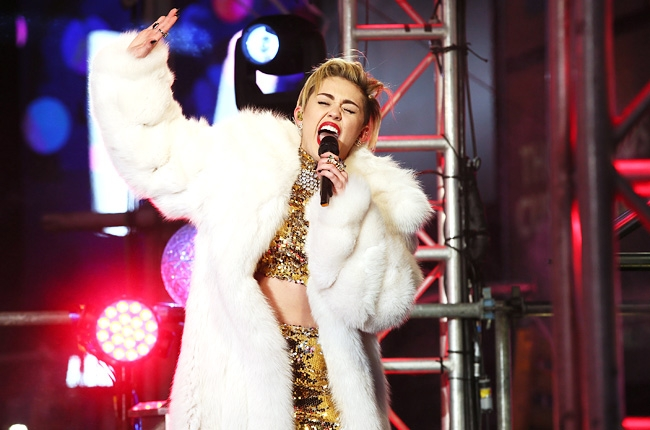 2014 Artists Concert Forecast headed for Bay Area: Justin Timberlake, Miley Cyrus, the Eagles, Demi Lovato... Miley-10