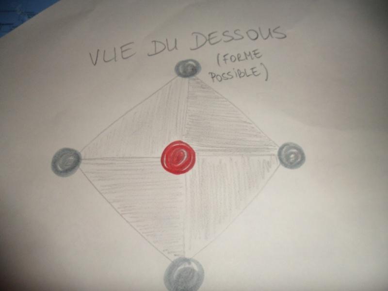 1993: le 03/07 à 00H30 - lumières formant un carréUn phénomène ovni surprenant - ST LIEUX LES LAVAUR - Tarn (dép.81) Croqui11