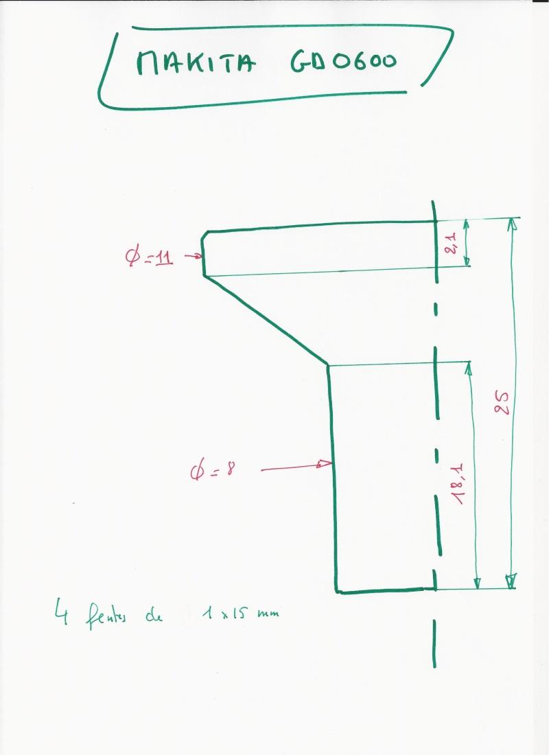 Recensement des divers types de pinces pour défonceuses - Page 3 Makita26