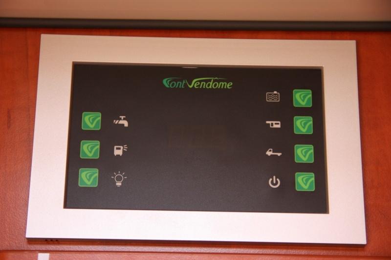 Information sur le tableau de contrôle d'un Font-Vendôme 2013. 121