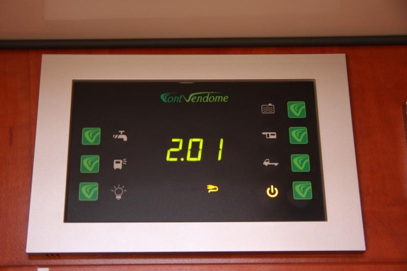 Information sur le tableau de contrôle d'un Font-Vendôme 2013. 312