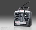 Radio E-Fly Art-Tech 4 canali 2,4GHz con tastini e 3 riceventi 20113311