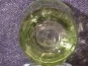 Lime green cylinder vase P1000923