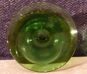 Green Baluster Candlestick P1010027