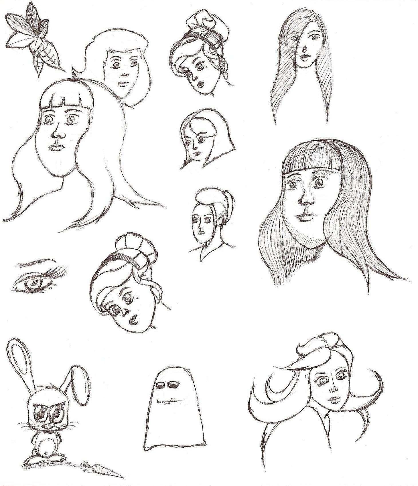 carlin et visages (stylo) Copie_10