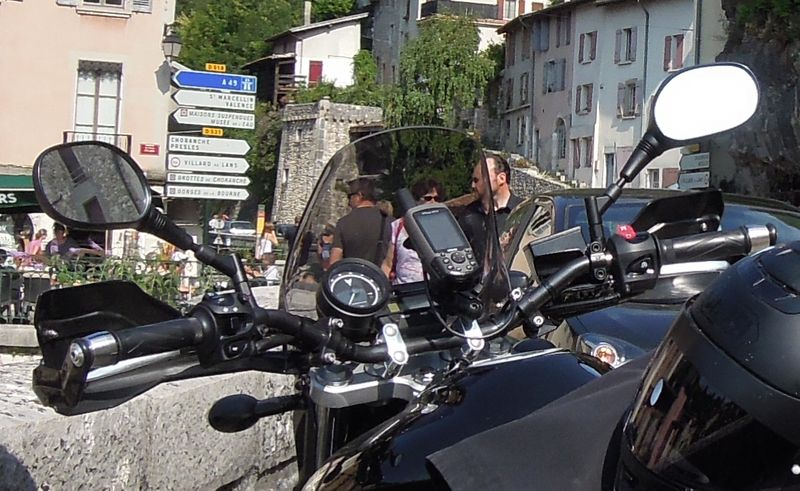 Support GPS/téléphone ram mount Pont_e11