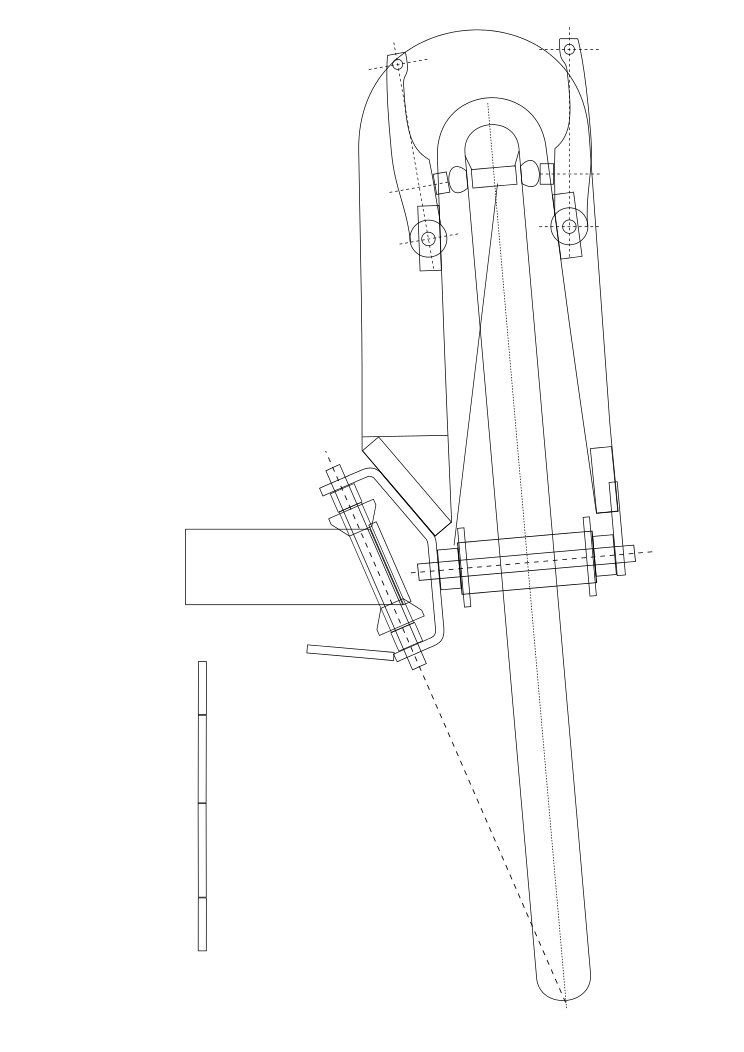 velomobile autoconstruit: le chantier Luc-fo10