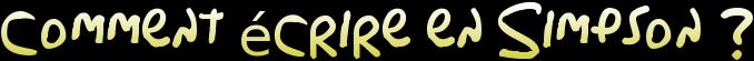 TUTO-Écrire en Simpson  Coolte12