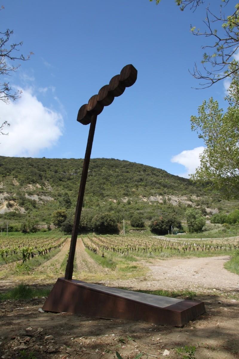sentier sculpturel de Mayronnes (Aude) Img_9113