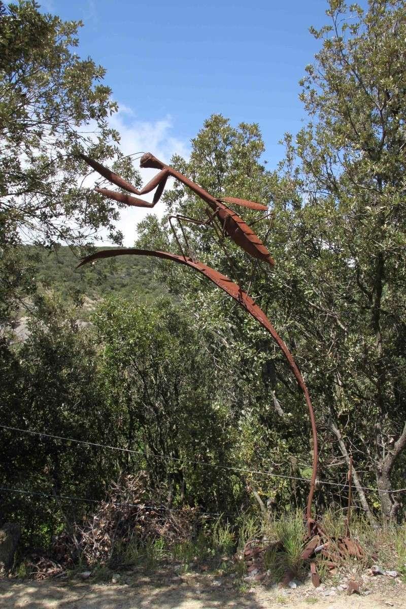 sentier sculpturel de Mayronnes (Aude) Img_9117