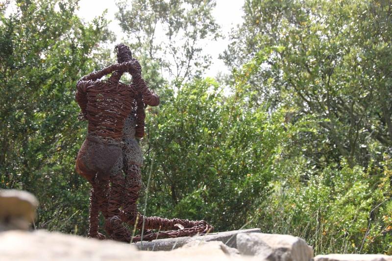 sentier sculpturel de Mayronnes (Aude) Img_9124