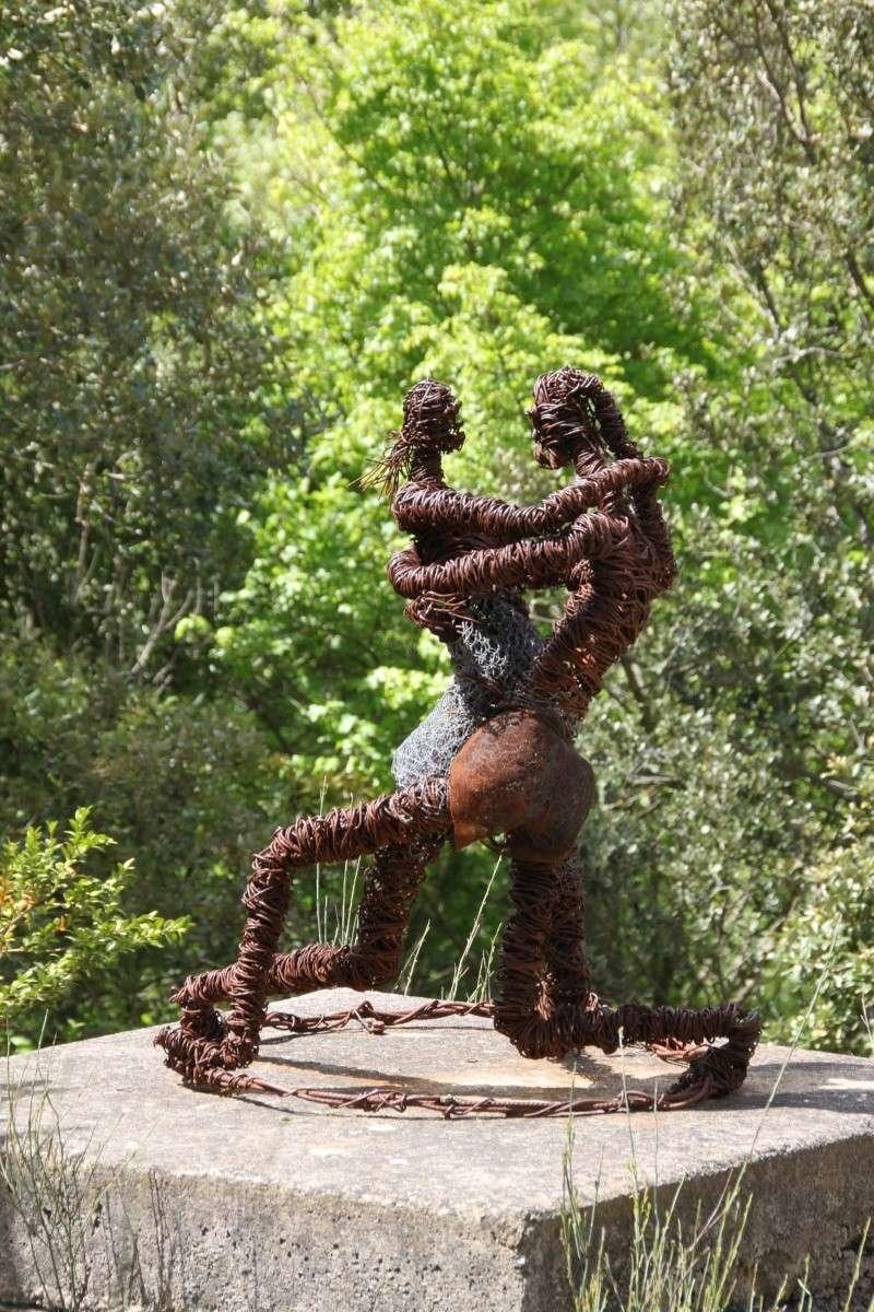sentier sculpturel de Mayronnes (Aude) Img_9125
