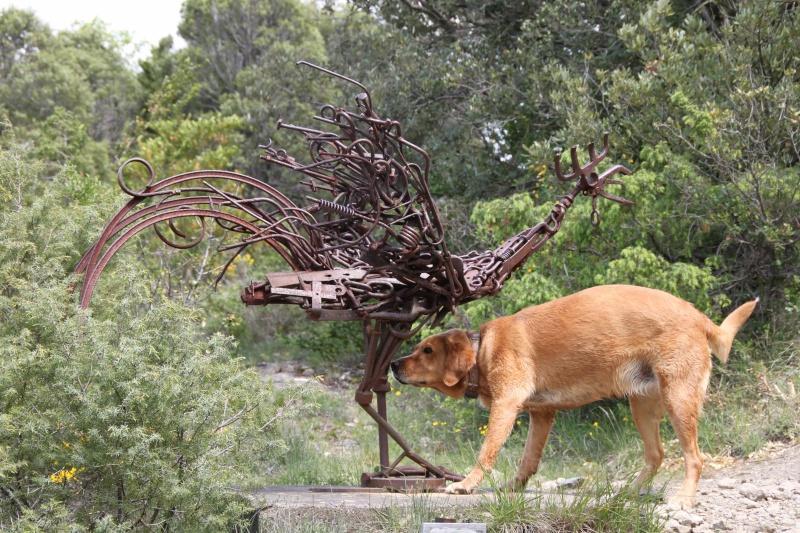 sentier sculpturel de Mayronnes (Aude) Img_9126