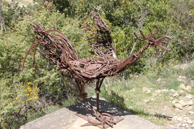 sentier sculpturel de Mayronnes (Aude) Img_9128