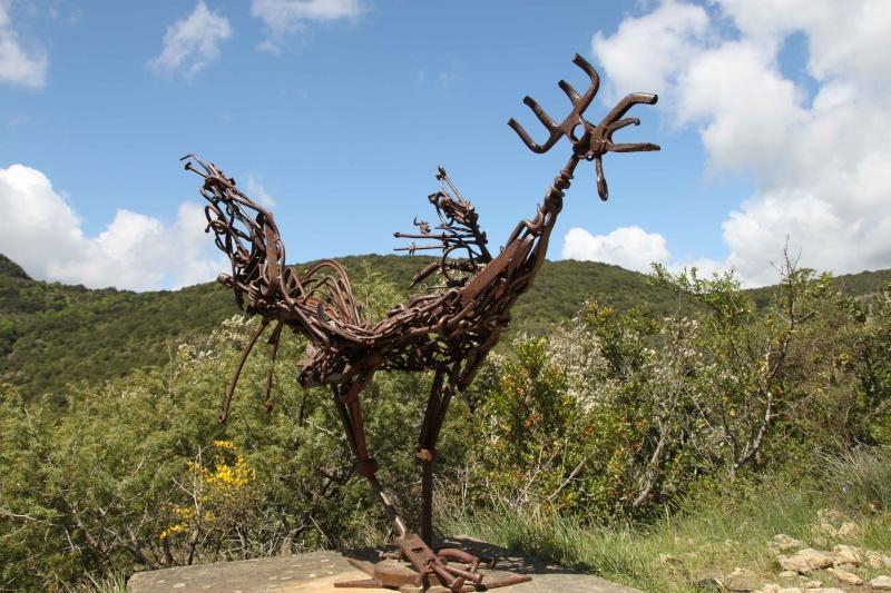 sentier sculpturel de Mayronnes (Aude) Img_9211