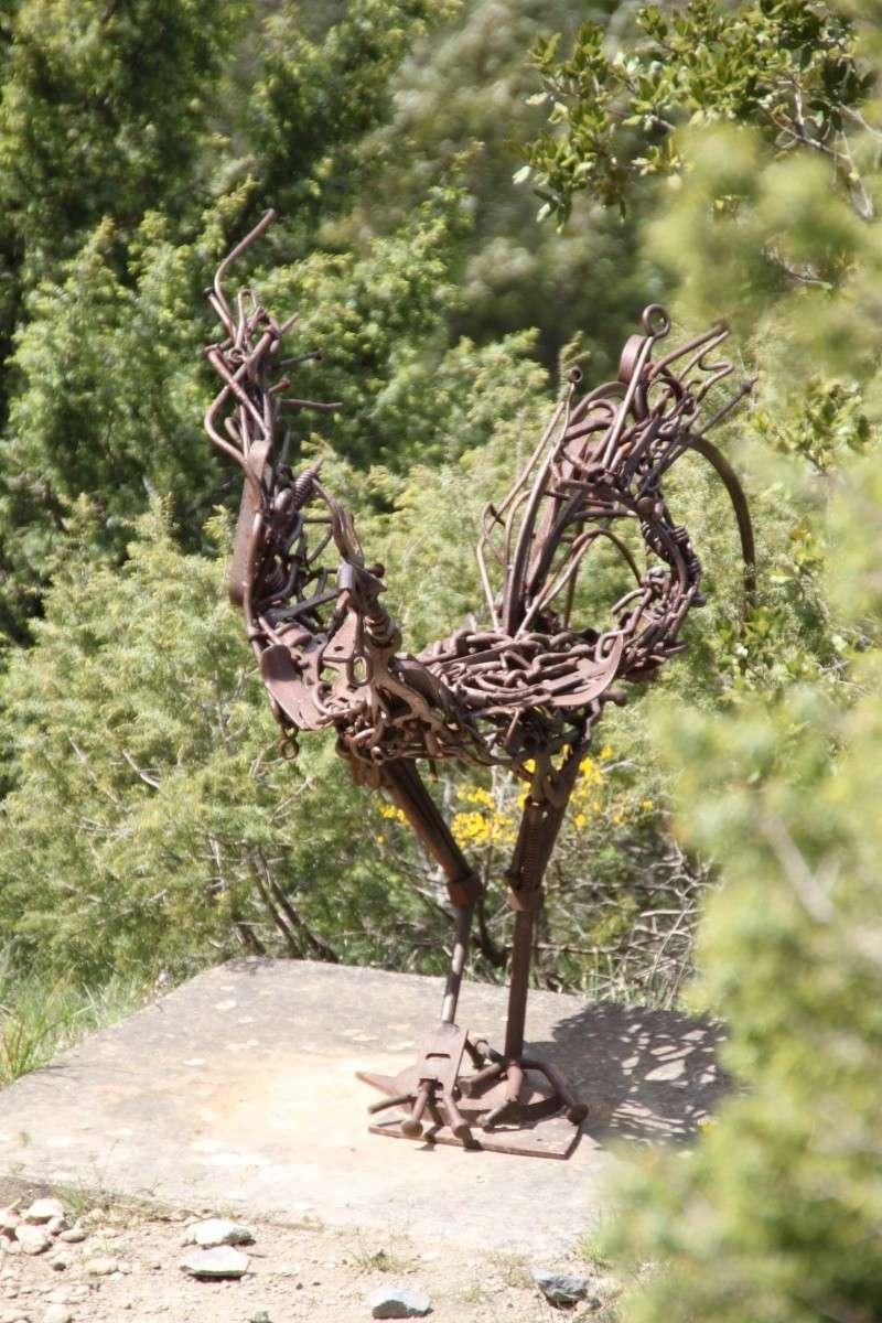 sentier sculpturel de Mayronnes (Aude) Img_9214