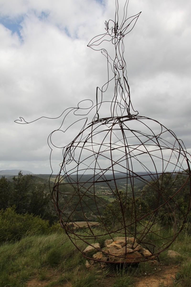 sentier sculpturel de Mayronnes (Aude) Img_9232