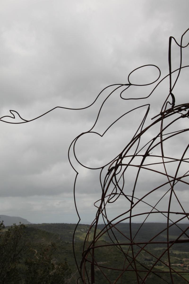 sentier sculpturel de Mayronnes (Aude) Img_9233