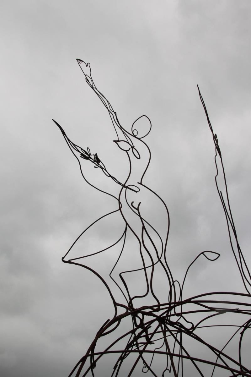 sentier sculpturel de Mayronnes (Aude) Img_9234