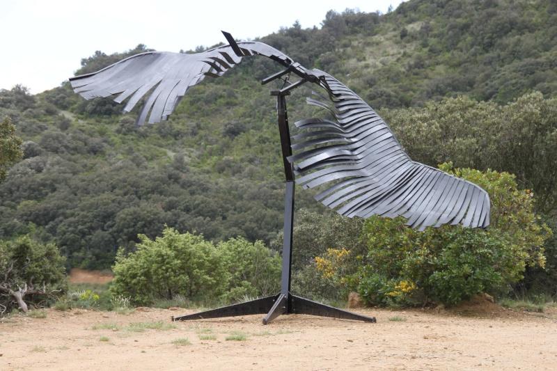 sentier sculpturel de Mayronnes (Aude) Img_9235