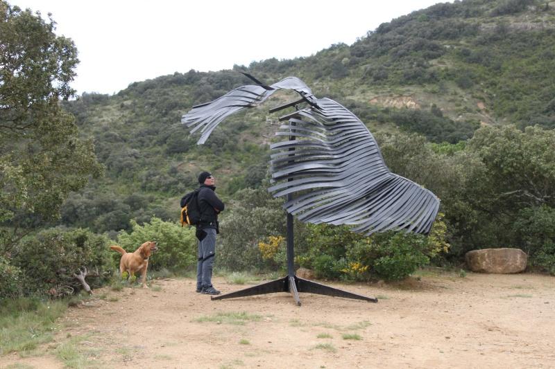 sentier sculpturel de Mayronnes (Aude) Img_9240