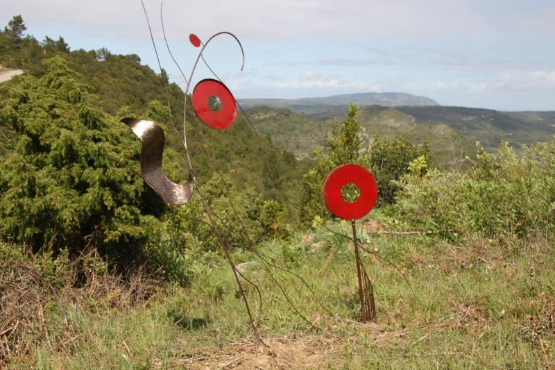 sentier sculpturel de Mayronnes (Aude) Img_9250