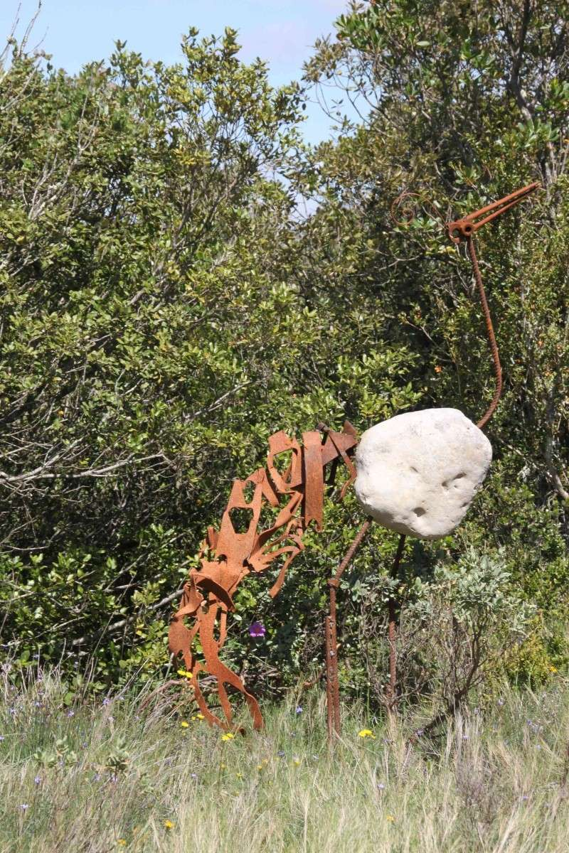 sentier sculpturel de Mayronnes (Aude) Img_9335