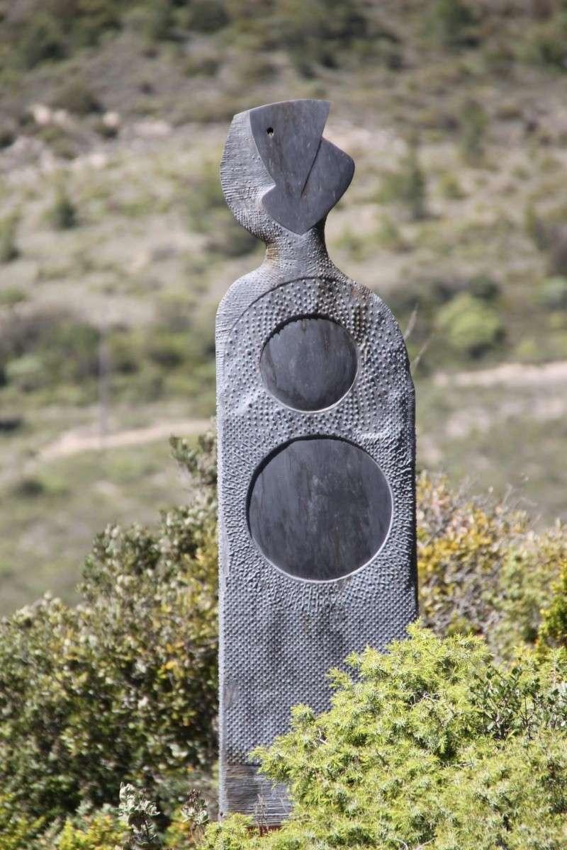 sentier sculpturel de Mayronnes (Aude) Img_9341