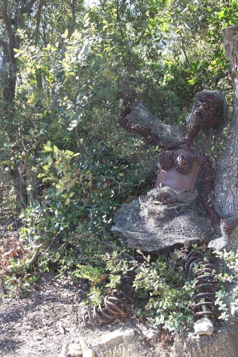 sentier sculpturel de Mayronnes (Aude) Img_9371