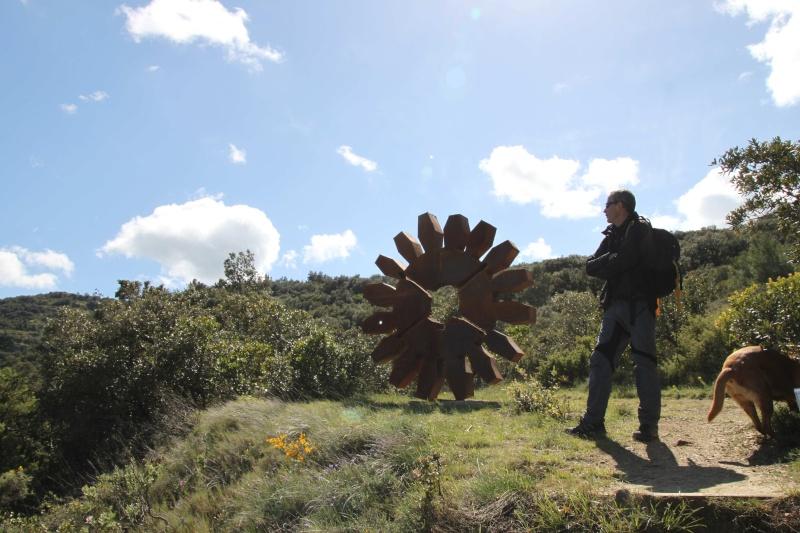 sentier sculpturel de Mayronnes (Aude) Img_9379