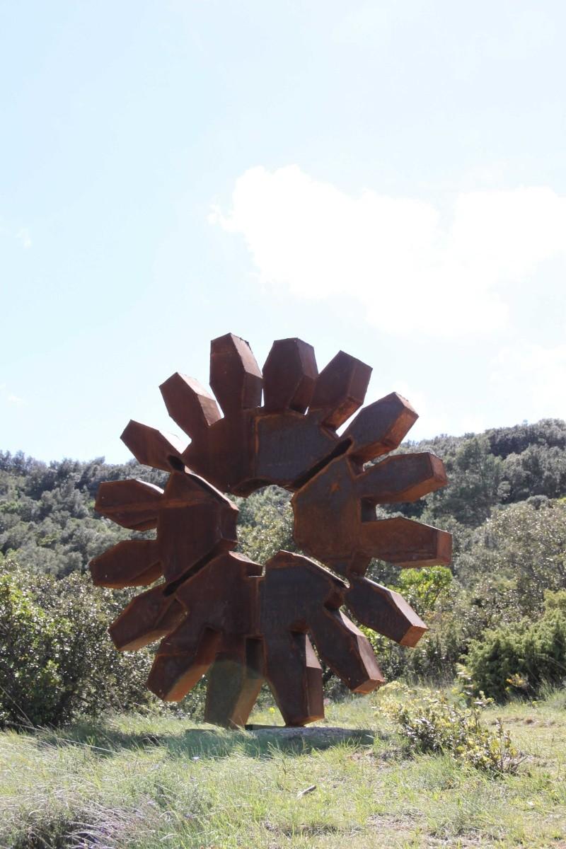 sentier sculpturel de Mayronnes (Aude) Img_9380