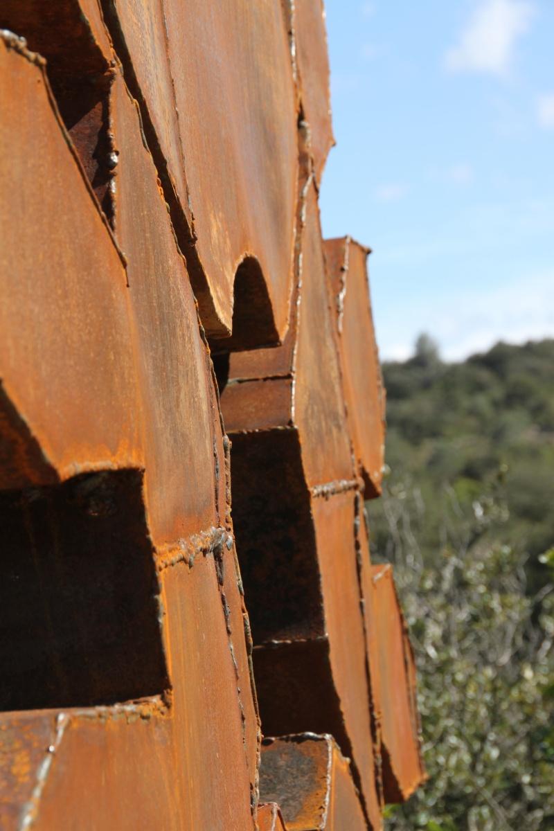 sentier sculpturel de Mayronnes (Aude) Img_9382