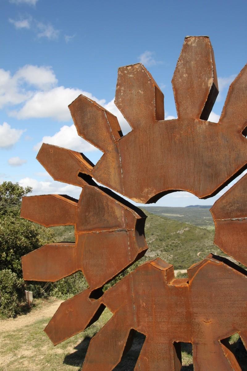 sentier sculpturel de Mayronnes (Aude) Img_9384