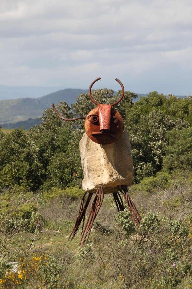 sentier sculpturel de Mayronnes (Aude) Img_9412