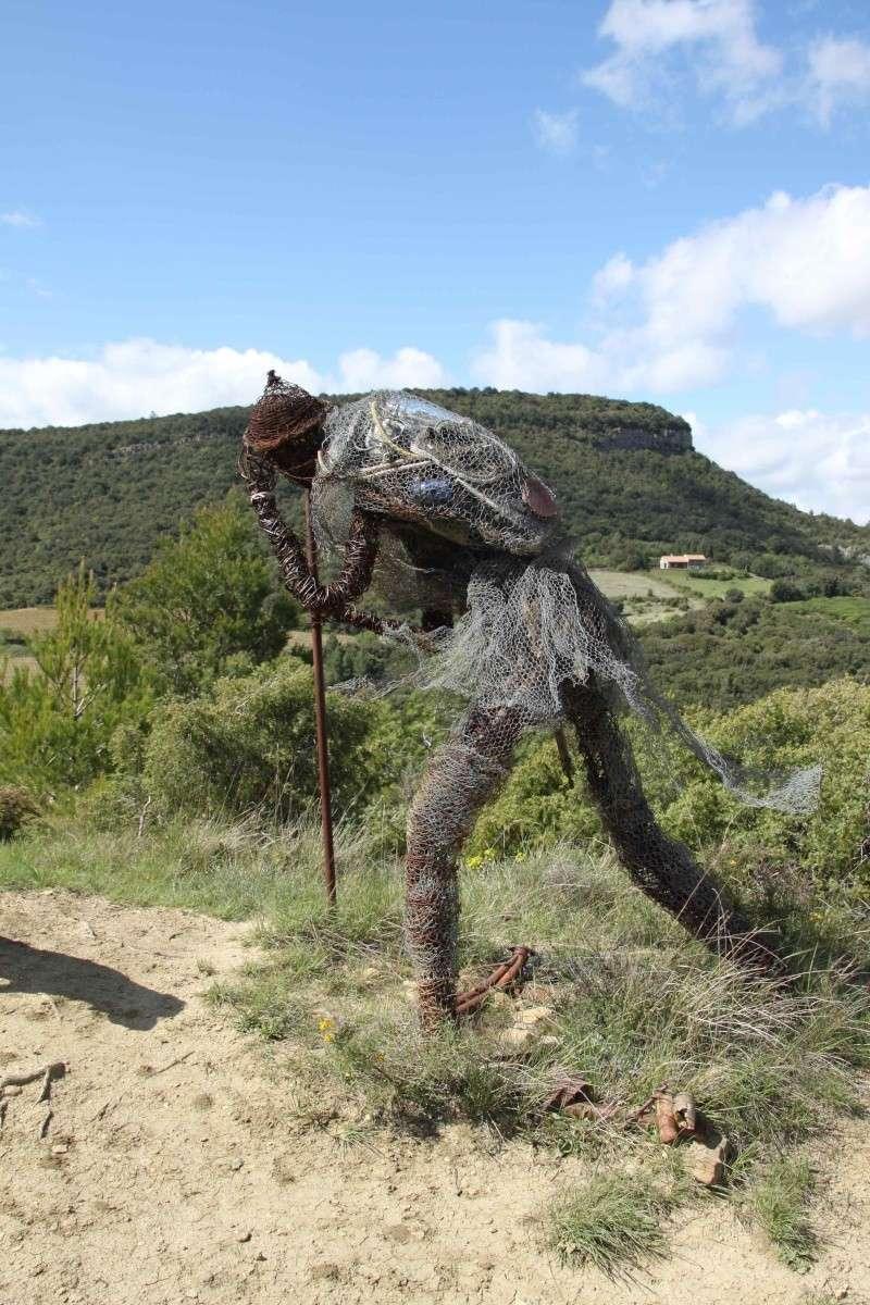 sentier sculpturel de Mayronnes (Aude) Img_9417