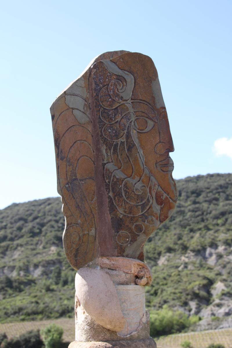 sentier sculpturel de Mayronnes (Aude) Img_9422