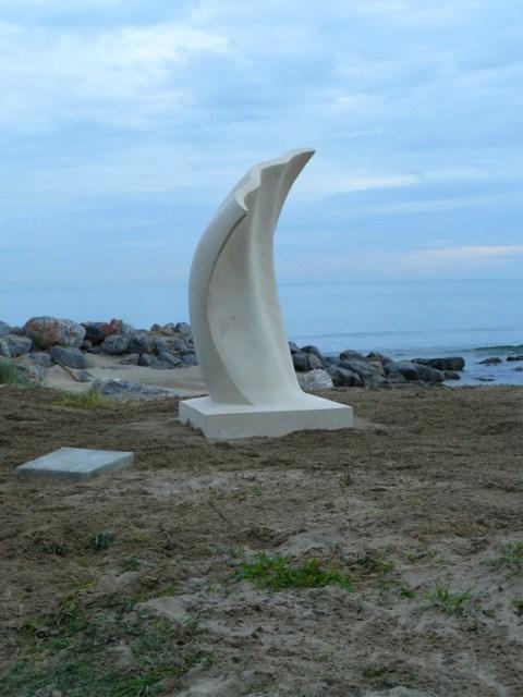 sentier sculpturel de Mayronnes (Aude) Instal10