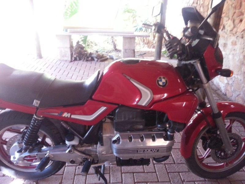 Hi , this will be my build and restore/fixing attempt of my K100 '83  20130819