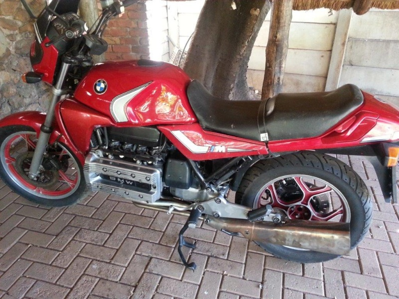 Hi , this will be my build and restore/fixing attempt of my K100 '83  20130821