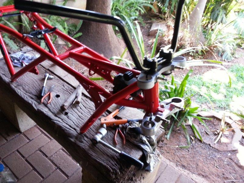 Hi , this will be my build and restore/fixing attempt of my K100 '83  20131114