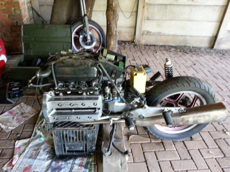 Hi , this will be my build and restore/fixing attempt of my K100 '83  20131116