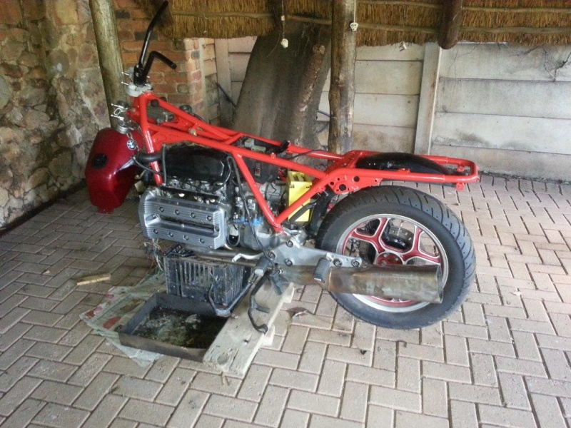 Hi , this will be my build and restore/fixing attempt of my K100 '83  20131211