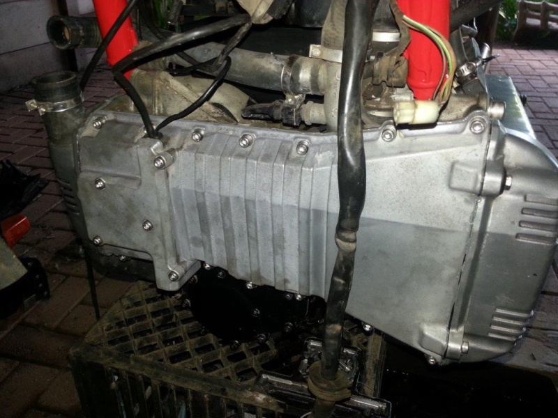 Hi , this will be my build and restore/fixing attempt of my K100 '83  20131216