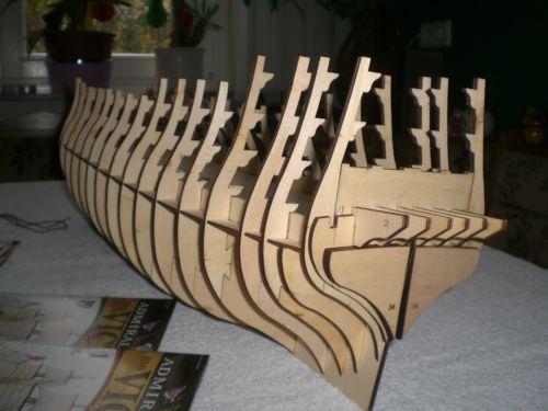 Geeignete Holzart für soliden Schiffsrumpf Spante10