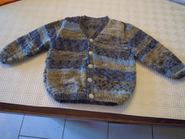 mes tricots finis Plaid_31
