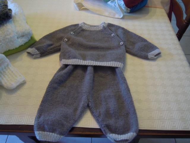 mes tricots finis Plaid_33