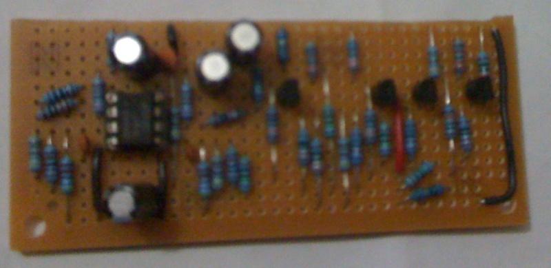 Genesis 2 Crystal Clear Audio Mod On Stripboard Ccmod10