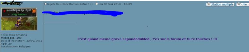 """Lepandadubled """"Le retour"""" Rachel10"""