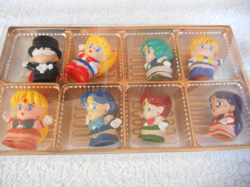 SAILOR MOON: 8 mini figure statiche Japan in box Dscn1710